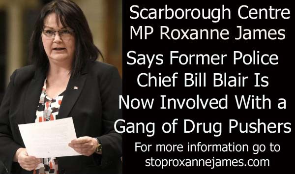Roxanne James Bill Bliar Involved With Gang of Drug Pushers