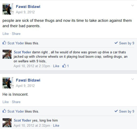 Fawzi Bidawi Posting April 9, 2012