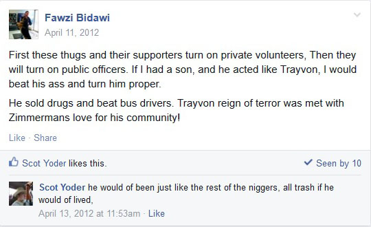 Fawzi Bidawi Posting April 11, 2012