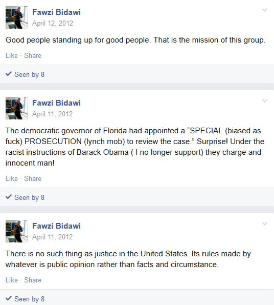 Fawzi Bidawi Posting April 12, 2012