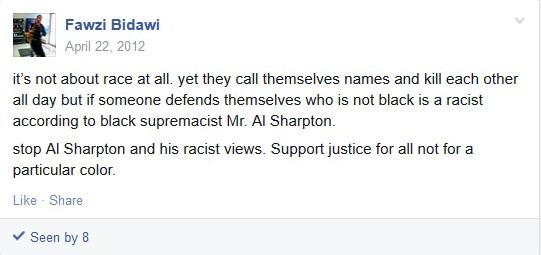 Fawzi Bidawi Posting April 22, 2012