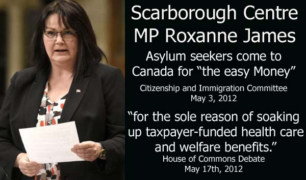 Roxanne James Immigrants Here For The Easy Money