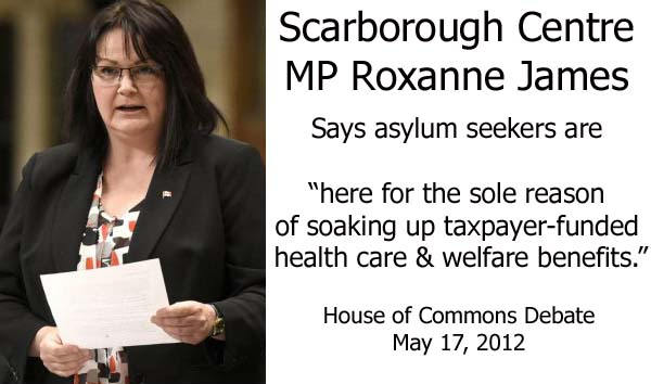 Roxanne James Asylum Seekers Just Want Welfare & Free Healthcare