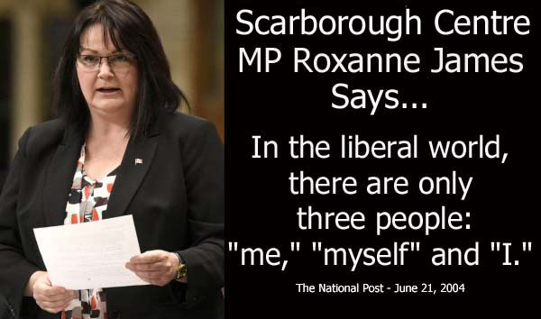 Roxanne James on Liberals
