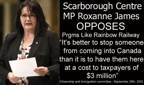 Roxanne James Better To STOP Refugees As Costs Taxpayers $3 Million