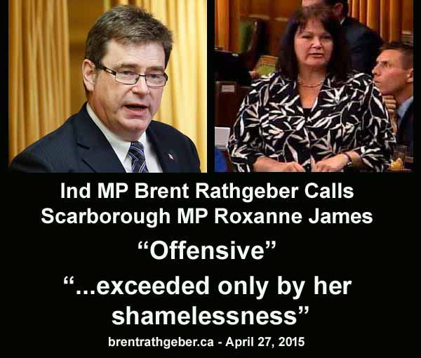 Roxanne James OFFENSIVE
