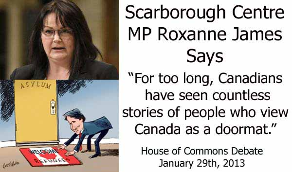 Roxanne James Says World Views Canada As A DOORMAT For Its Refugee Policy
